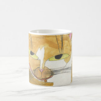 Fluffy Classic White Coffee Mug