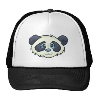 Fluffy Panda Mesh Hat