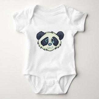Fluffy Panda Infant Creeper