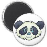 Fluffy Panda Magnets