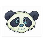 Fluffy Panda Postcard