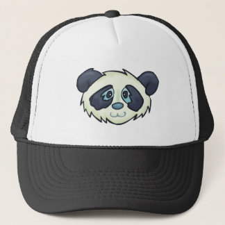 Fluffy Panda Trucker Hat
