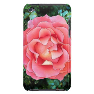 Fluffy Pink Rose Case-Mate iPod Touch Case