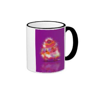 Fluffy Ringer Mug