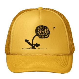 Fluffy Seed Dandelion Trucker Hat
