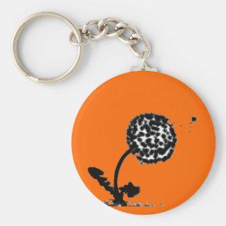 Fluffy Seed Dandelion Keychain