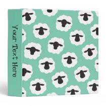 Fluffy Sheep • Craft & Fiber Love Crafts Binder