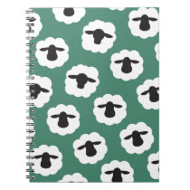 Fluffy Sheep Crafts Pattern Notebook