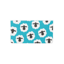 Fluffy Sheep • Fiber Love Crafts {Any Color} Checkbook Cover
