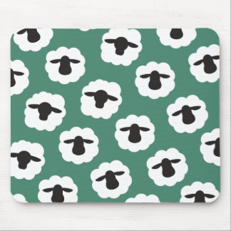 Fluffy Sheep • Yarn Love Crafts Mouse Pad