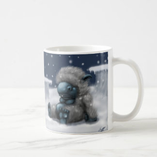 Fluffy Snow Monster Coffee Mug