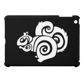 Fluffy Squirrel Tribal Cover For The iPad Mini