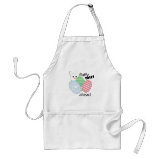 Fluffy Tails Ahead Adult Apron