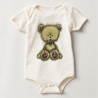 Fluffy Teddy Baby Creeper