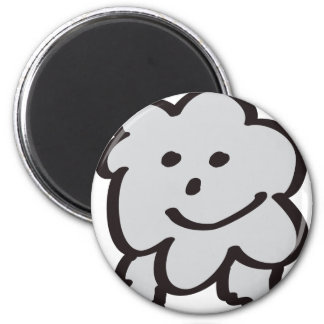 fluffy the sheep magnet