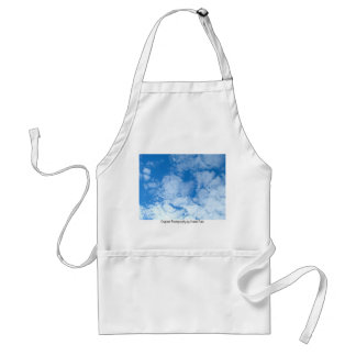 Fluffy White Clouds Adult Apron