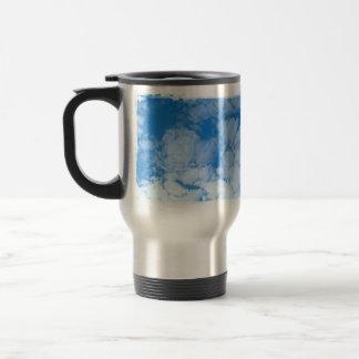 Fluffy White Clouds; Customizable Travel Mug