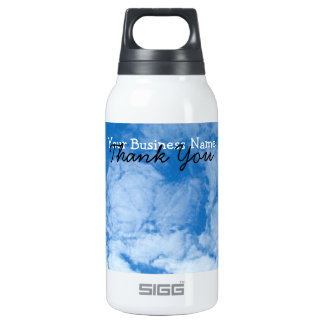 Fluffy White Clouds; Promotional Insulated Water Bottle