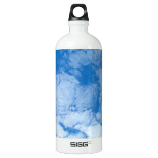 Fluffy White Clouds Water Bottle