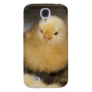 Fluffy Yellow Baby Chick Galaxy S4 Case