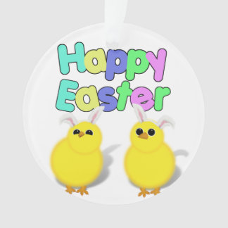 Fluffy Yellow Easter Chicks - Happy Easter!