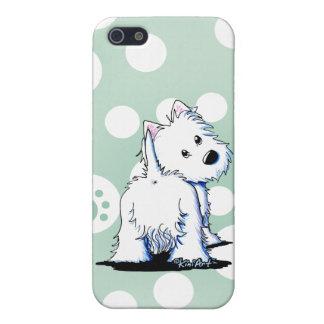Fluffybutt Westie iPhone 5/5S Case