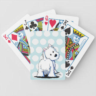 Fluffybutt Westie Playing Cards