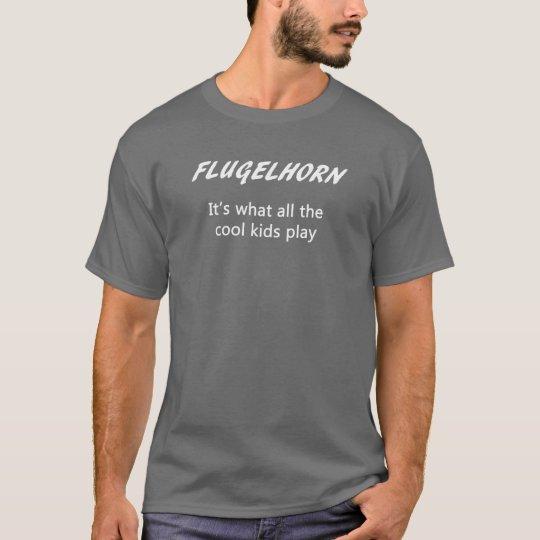 FLUGELHORN. Es lo que juegan todos los niños Playera