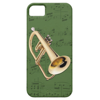 Flugelhorn & music phone case. Pick color iPhone SE/5/5s Case