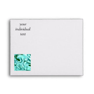 fluid art01 green envelope
