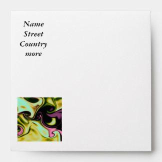 fluid art 05 yellow envelopes