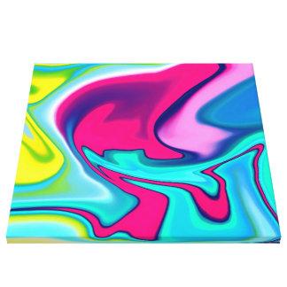 Fluid Art 22 Canvas Print