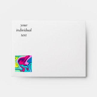 Fluid Art 22 Envelope