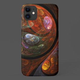 Fluid Connection Abstract Art Case-Mate iPhone Case
