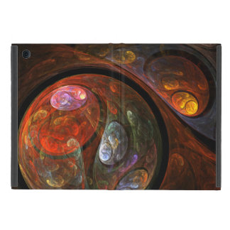 Fluid Connection Abstract Art Covers For iPad Mini