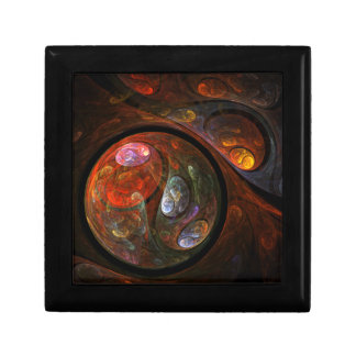 Fluid Connection Abstract Art Gift Box