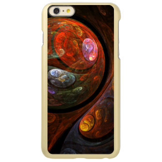Fluid Connection Abstract Art Incipio Feather® Shine iPhone 6 Plus Case
