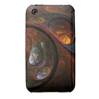 Fluid Connection Abstract Art iPhone 3G / 3GS iPhone 3 Case-Mate Case