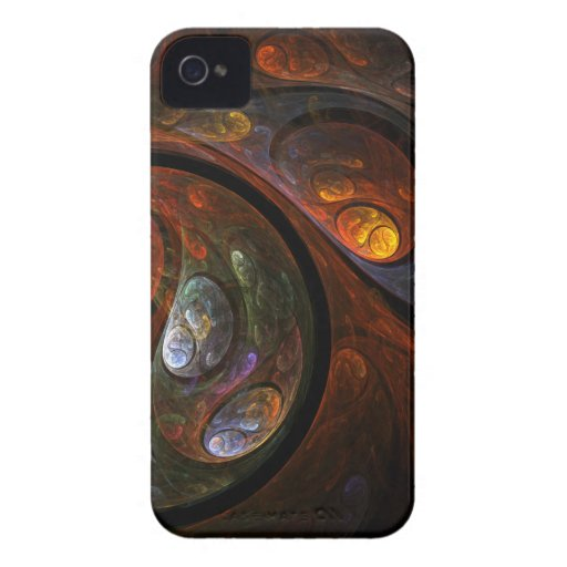 Fluid Connection Abstract Art iPhone 4 / 4S iPhone 4 Cases