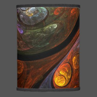 Fluid Connection Abstract Art Lamp Shade