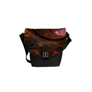 Fluid Connection Abstract Art Mini Bag Messenger Bags