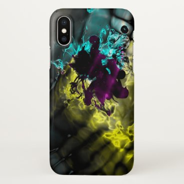 Fluid Dynamics 23 - The Joker iPhone X Case