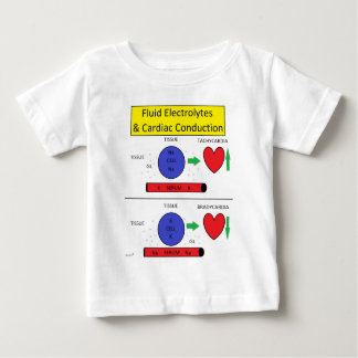 Fluid Electrolyte & Cardiac Baby T-Shirt