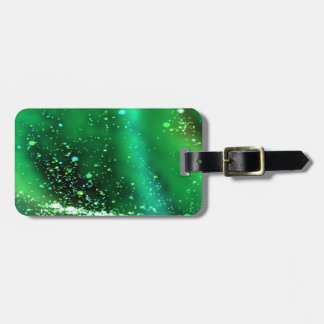 Fluid, green tag for bags