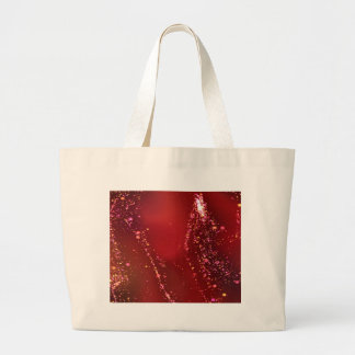 fluid, red tote bags