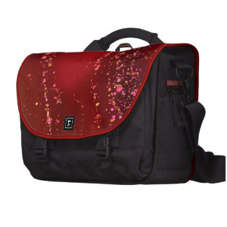 fluid, red laptop computer bag