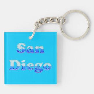 Fluid San Diego - On Aqua Keychain