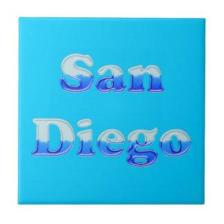 Fluid San Diego - On Aqua Ceramic Tiles