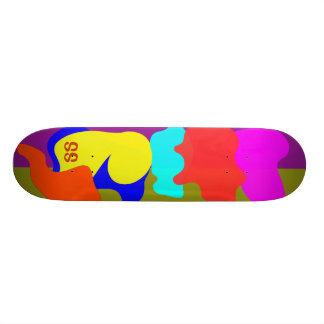 Fluid Skateboard