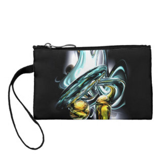 Fluidity Abstract Coin Wallet